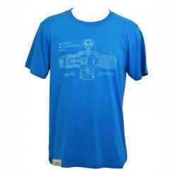 T-Shirt KMZ Man - Blue