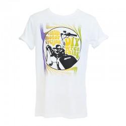 Neck screenprint T-Shirt DIY Man - White