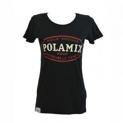 T-Shirt Polamix two stroke oil - Black - Woman