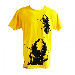 T-Shirt Stag Beetle Yellow