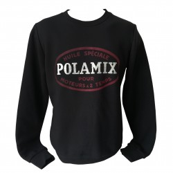 Sweat-shirt Polamix two stroke oil - Black