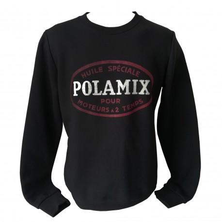 Sweat-shirt Polamix two stroke oil - Black