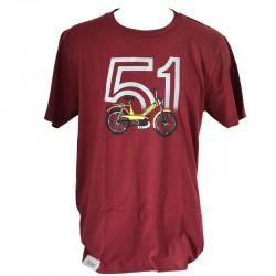 T-Shirt Motobecane 51 bordeaux