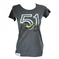 T-Shirt Motobecane 51 - Charcoal
