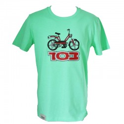 T-Shirt Peugeot 103 - light green