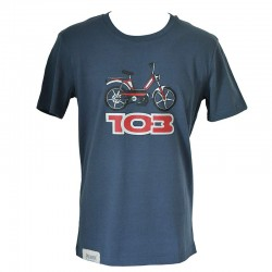 T-Shirt Peugeot 103 anthracite