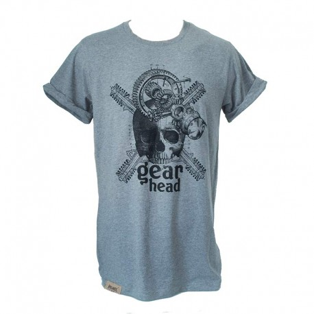 T-Shirt Gearhead Man - Heather grey