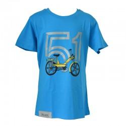 T-Shirt Motobecane 51 - azure blue
