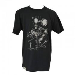 T-Shirt Short life- Noir