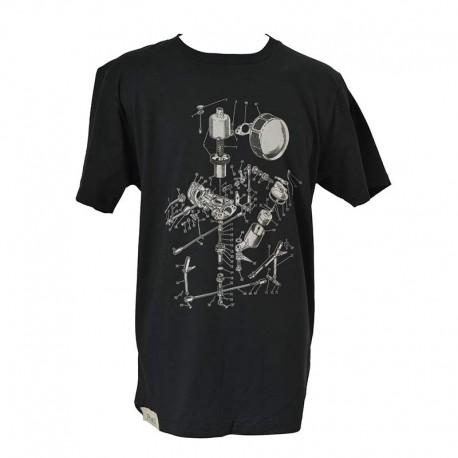 T-Shirt Short life - Black