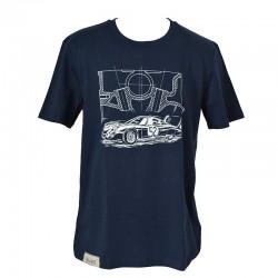 T-shirt CD peugeot navy