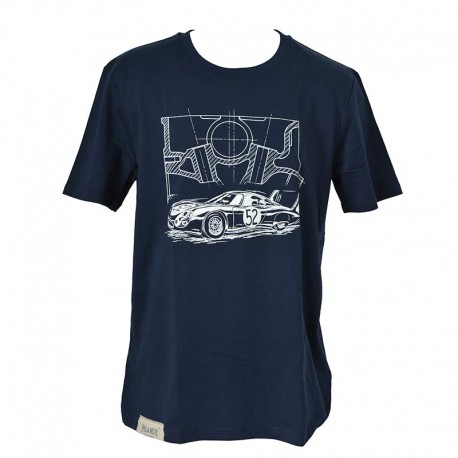 T-shirt CD peugeot blue