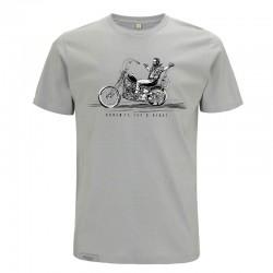 T-Shirt Fais-le maintenant - Homme - Gris