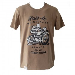 T-Shirt Do It Now - Khaki