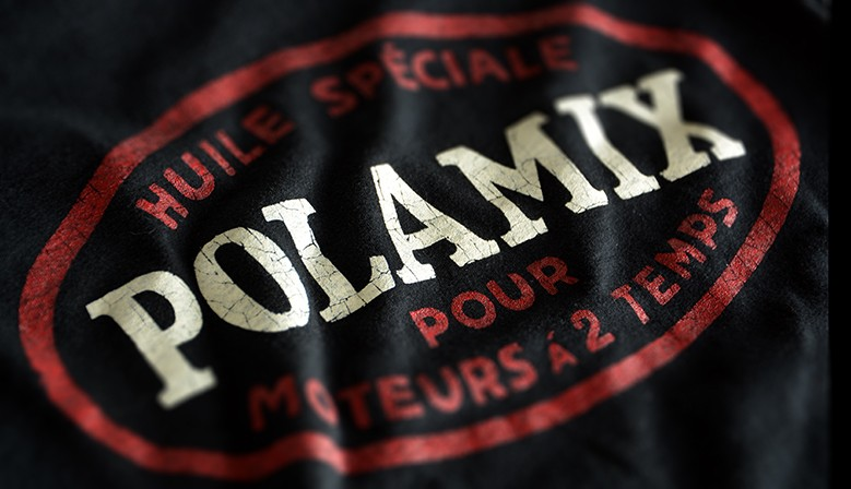 T-shirt Polamix two-stroke oil